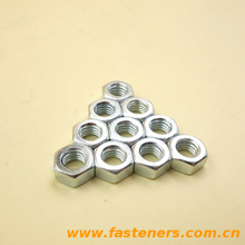 DIN934 Hexagon Nuts Galvanized high strength carbon steel